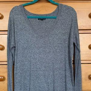 American Eagle Grey tunic sweater